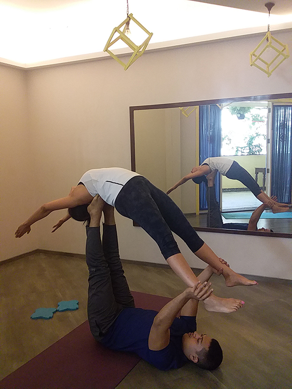 Yoga-Blend